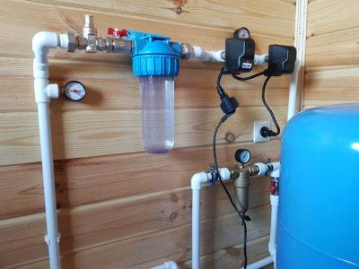 Водоснабжение частного дома, водопровод